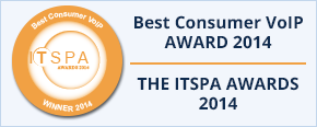 Best Consumer VoIP Award 2014, THE ITSPA AWARDS 2014